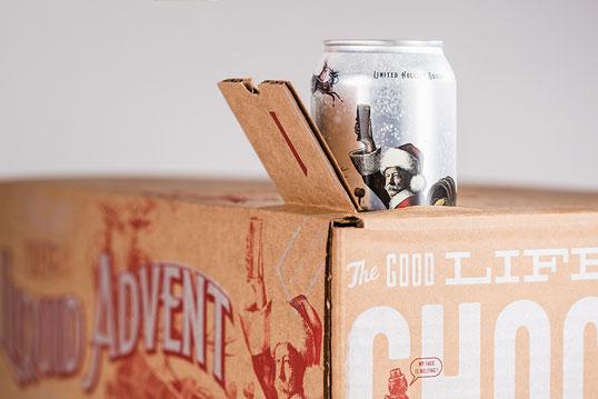 Calendario Avvento Birra.Liquid Advent Il Calendario Con Le Birre Le Farfalle