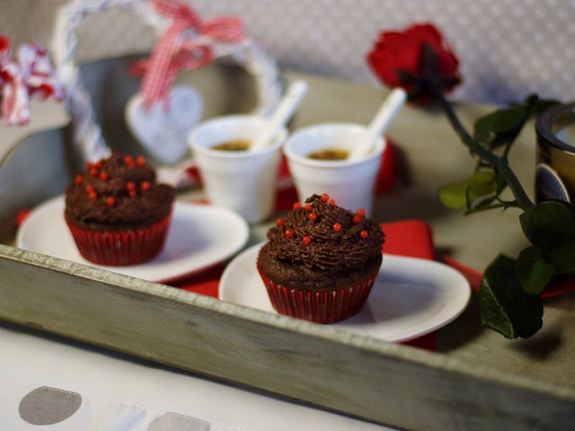 St Valentine double chocolate muffin