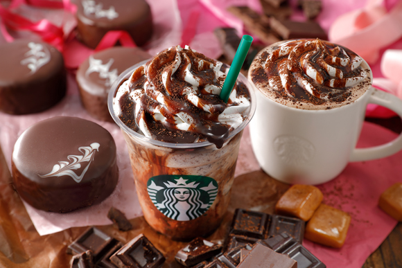 Starbucks Japan Chocoholic Drinks