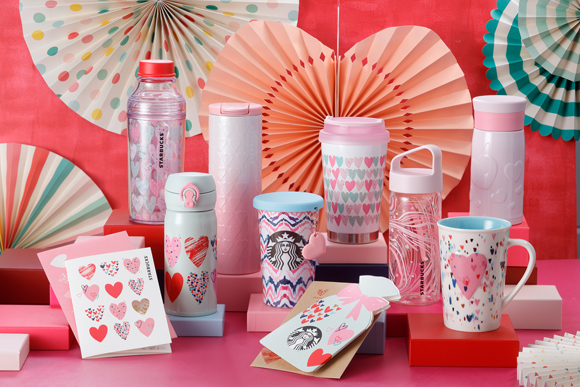Valentine's Day Drinkware Starbucks Japan