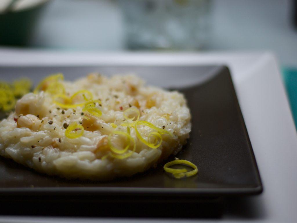 risotto antispreco alle croste di parmigiano