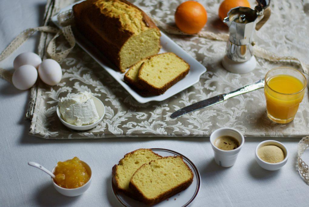 Plumcake ricotta: colazione!