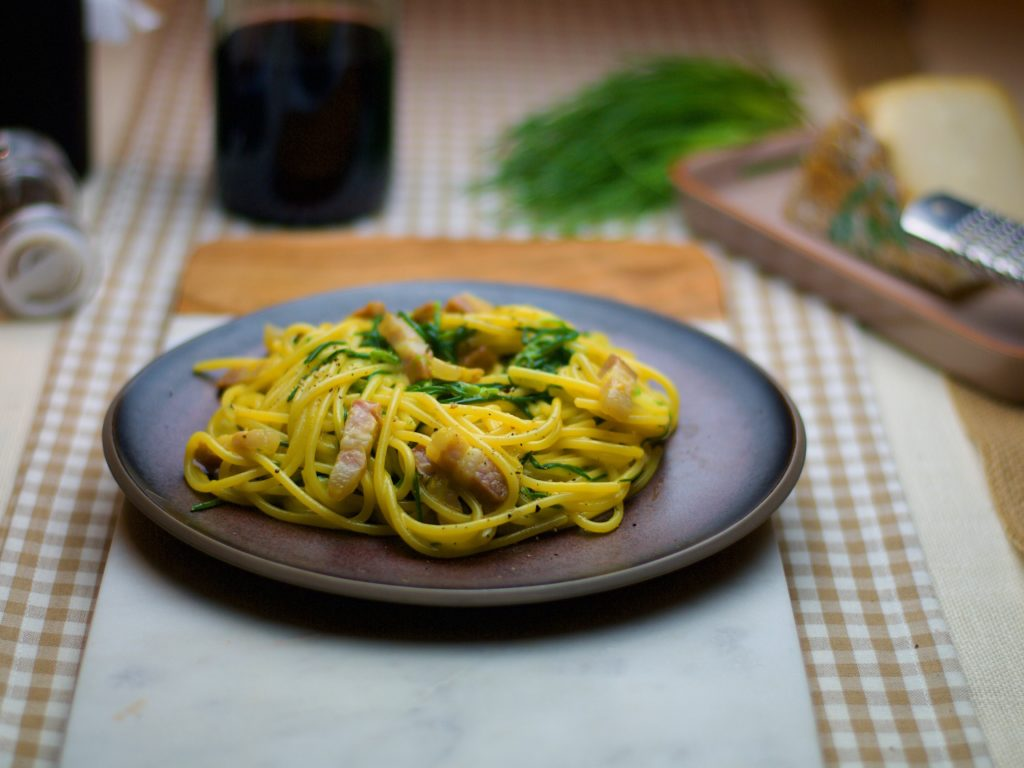 Carbonara agretti