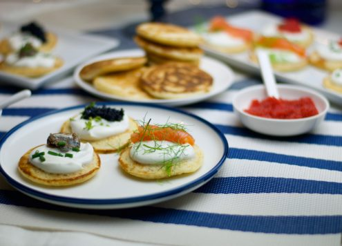 russian blinis