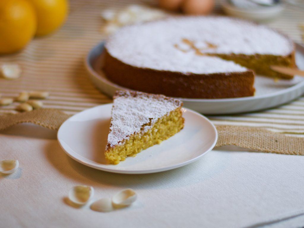 torta alle mandorle galiziana