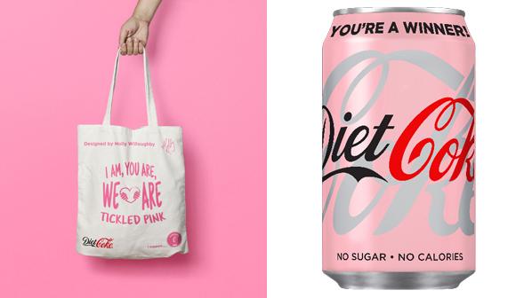 Pink Diet Coke