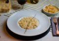 risotto alle croste di parmigiano