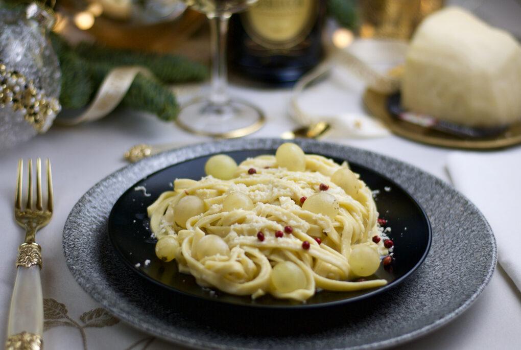 Spaghetti al pecorino di fossa